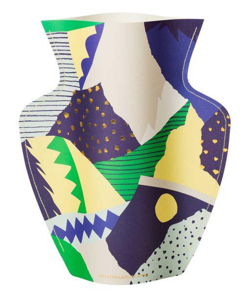 paper vase Stromboli octaevo