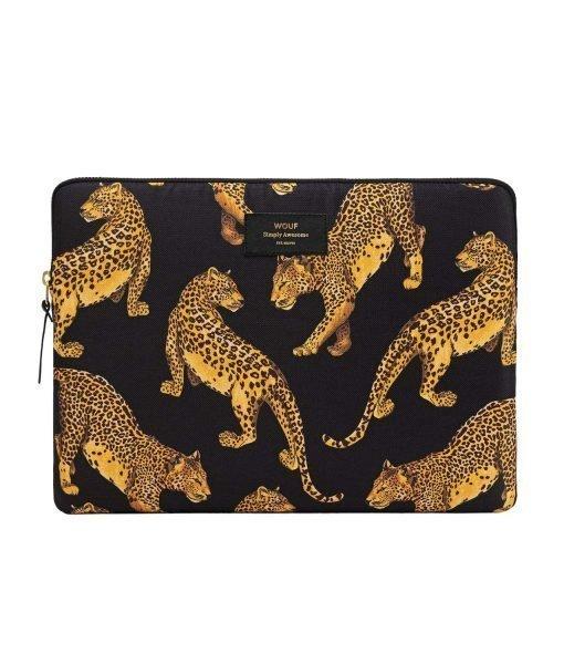funda macbook leopardo wouf