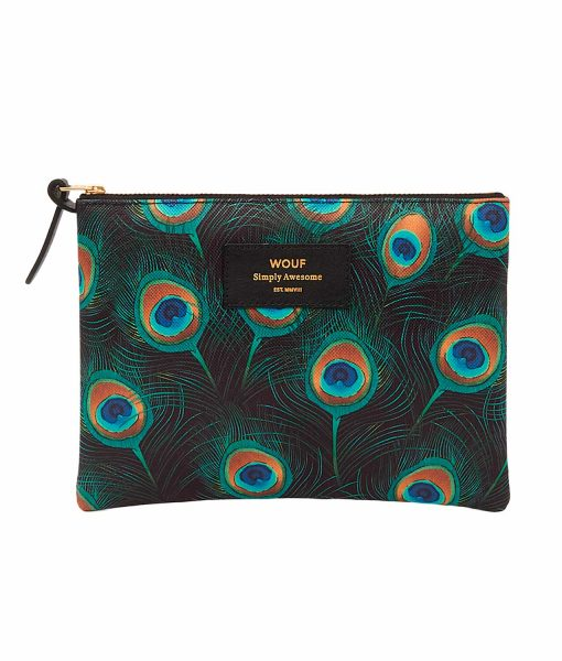 PEACOCK POUCH wouf