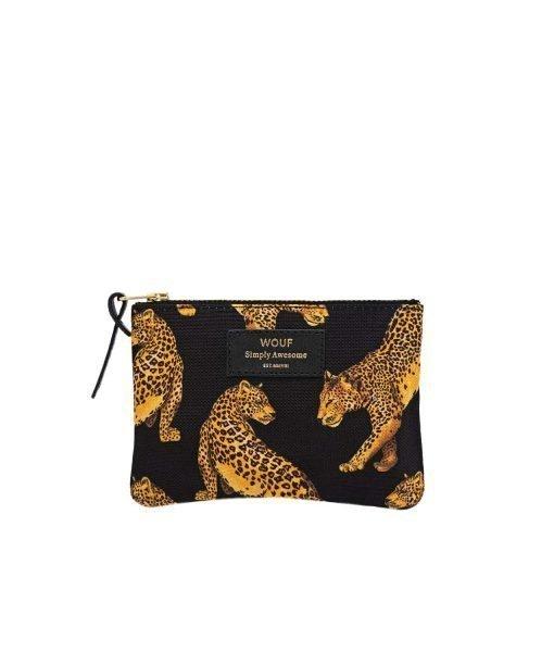 monedero leopardo NEGRO WOUF