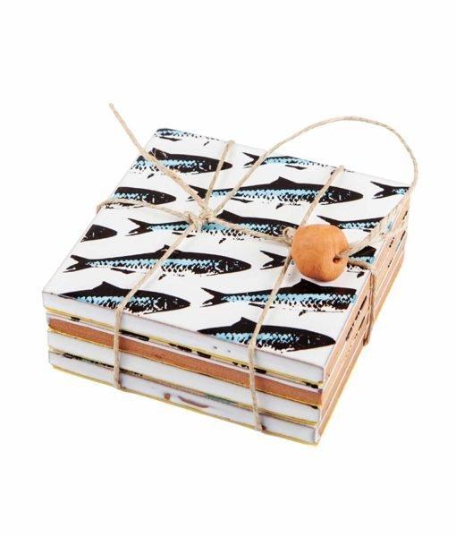 Posavasos sardinas