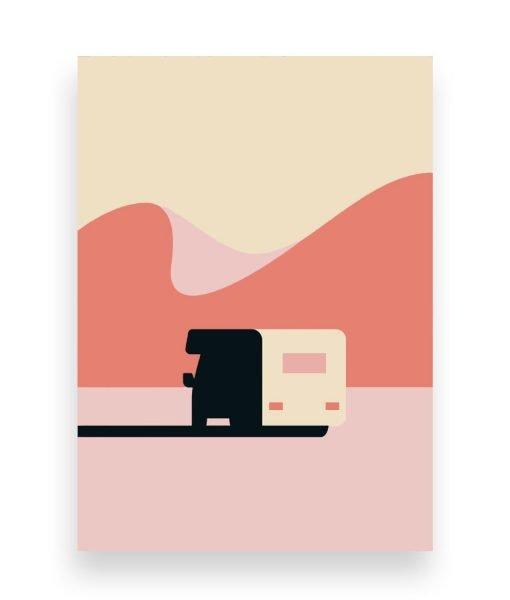ilustracion caravana