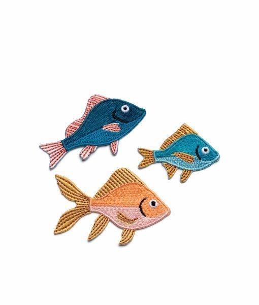 PEGATINAS BORDADAS DON FISHER