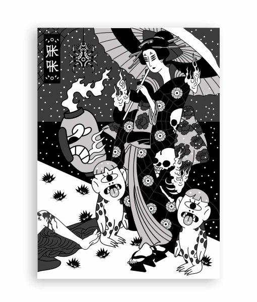 NEW NORMALITY illustration japan RKPK