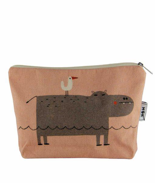estuche mon hipopotamo