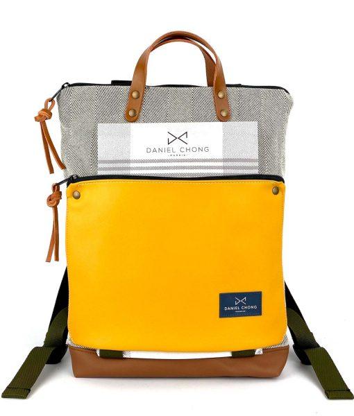 backpack Book Holder mustard chong