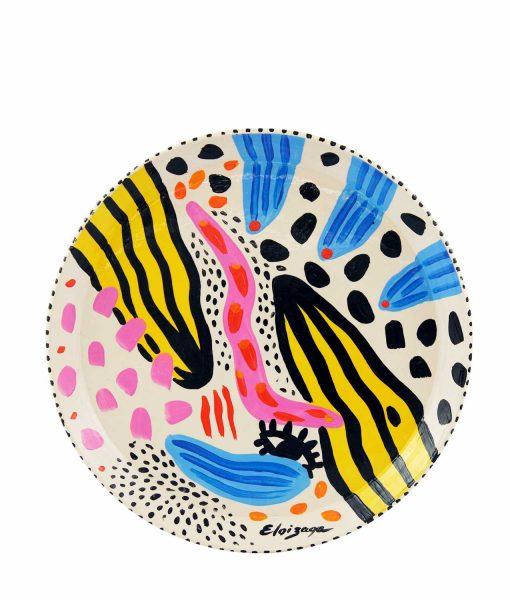plato ceramica eloizaga