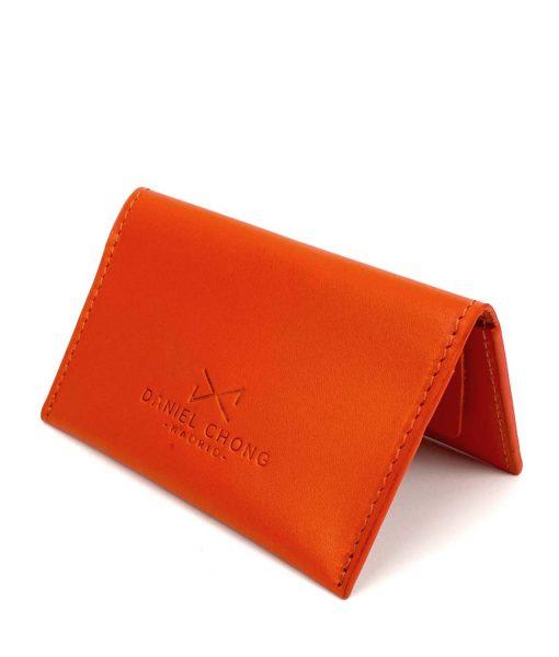 card holder orange DANIEL CHONG