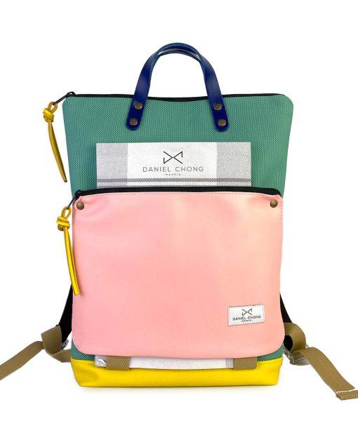 holder-waterproof-backpack pink daniel-chong