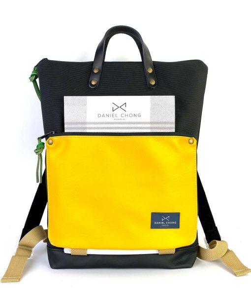 mochila-impermeable-daniel-chong-negro-amarillo